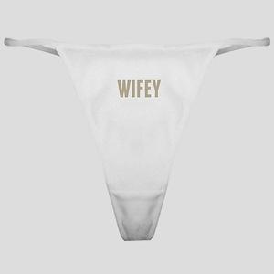 Wifey Classic Thong