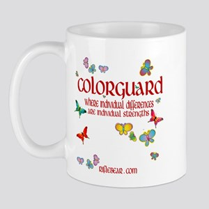 Colorguard Differences Mug