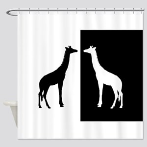 African Themed Shower Curtains