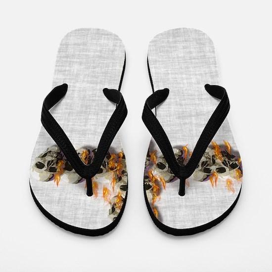Anti religion Flip Flops