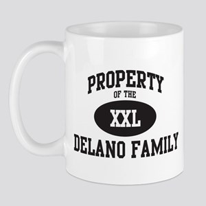 Property of Delano Family Mug