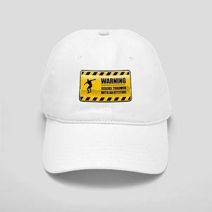 Warning Discus Thrower Cap