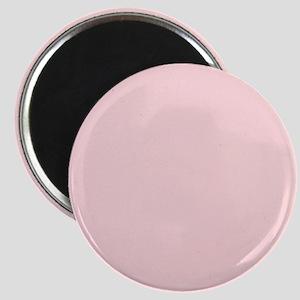Blush Pink Solid Color Magnets