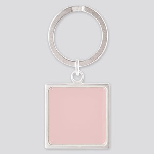Blush Pink Solid Color Keychains