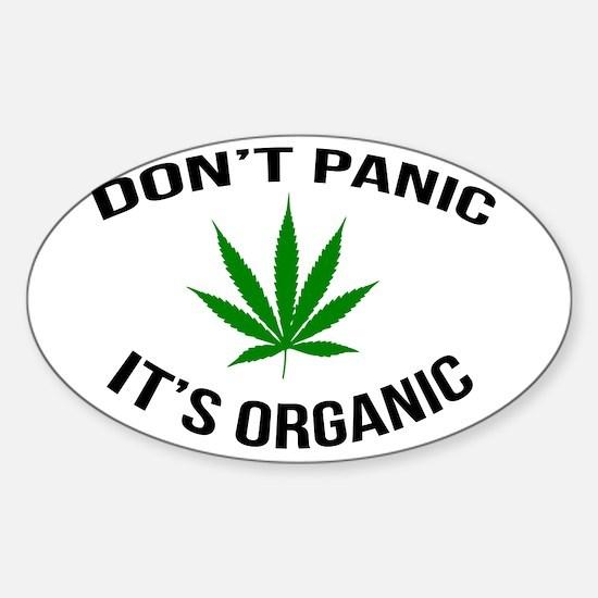 Don't Panic It's Organic Decal