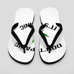 Don't Panic It's Organic Flip Flops