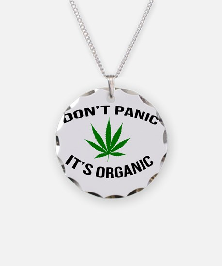 Don't Panic It's Organic Necklace