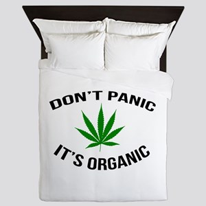 Don't Panic It's Organic Queen Duvet