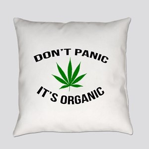 Don't Panic It's Organic Everyday Pillow