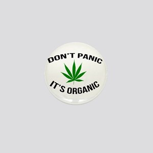 Don't Panic It's Organic Mini Button