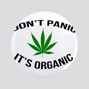 Don't Panic It's Organic Button