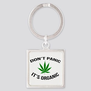 Don't Panic It's Organic Keychains