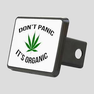 Don't Panic It's Organic Rectangular Hitch Cover