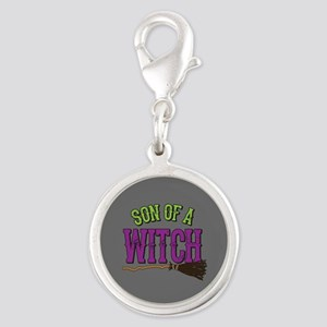 Son of a Witch Silver Round Charm