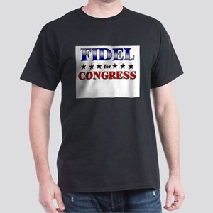 FIDEL for congress Dark T-Shirt