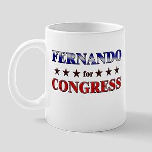 FERNANDO for congress Mug