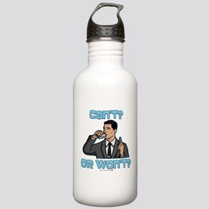 Archer Can't or Won't Stainless Water Bottle 1.0L