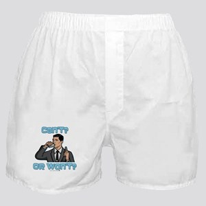 Archer Can't or Won't Boxer Shorts