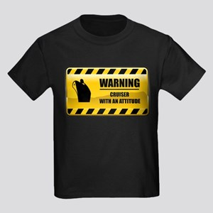 Warning Cruiser Kids Dark T-Shirt