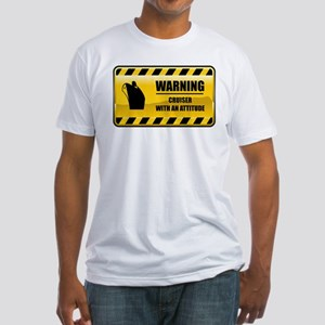 Warning Cruiser Fitted T-Shirt