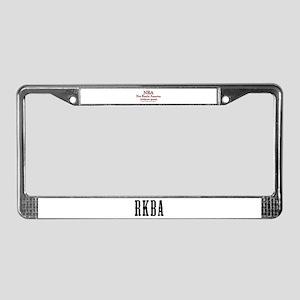 Not Really America License Plate Frame