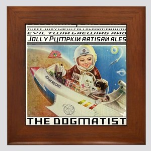 The Dogmatist Framed Tile