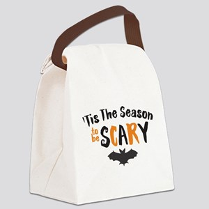 Tis the Season to be Scary Canvas Lunch Bag