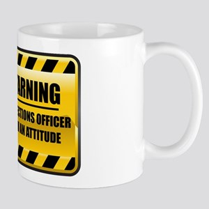 Warning Corrections Officer Mug