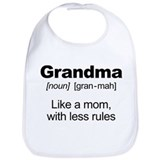 Grandmother Cotton Bibs