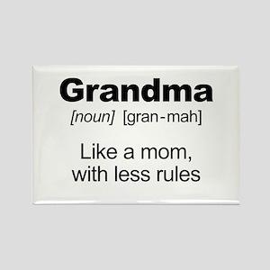 Grandmas Rule! Magnets