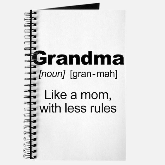 Grandmas Rule! Journal