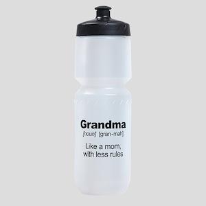 Grandmas Rule! Sports Bottle
