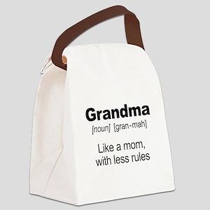 Grandmas Rule! Canvas Lunch Bag
