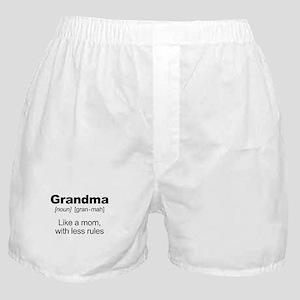 Grandmas Rule! Boxer Shorts