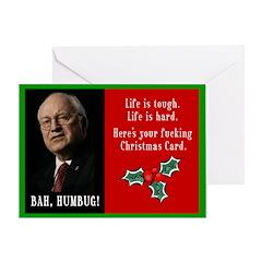 Dick chaney christmas card
