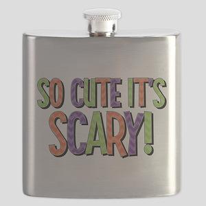 So Cute It's Scary Flask