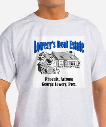 Lowery's Psycho Real Estate of Phoenix Ash Grey T-