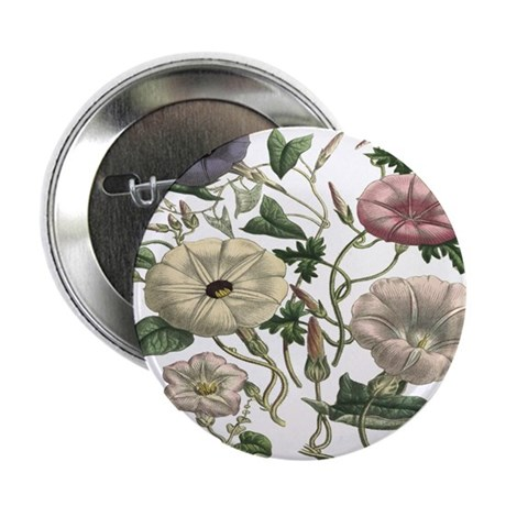 """Morning Glory Art 2.25"""" Button (10 pack)"""
