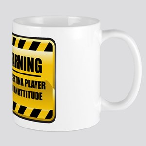 Warning Concertina Player Mug