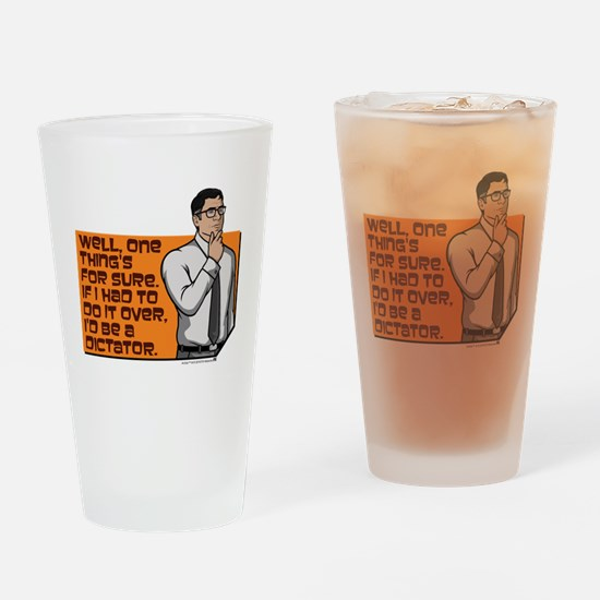 Archer Cyril Dictator Drinking Glass