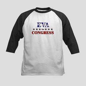 EVA for congress Kids Baseball Jersey
