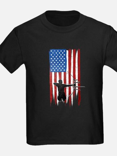USA Flag Team Archery T