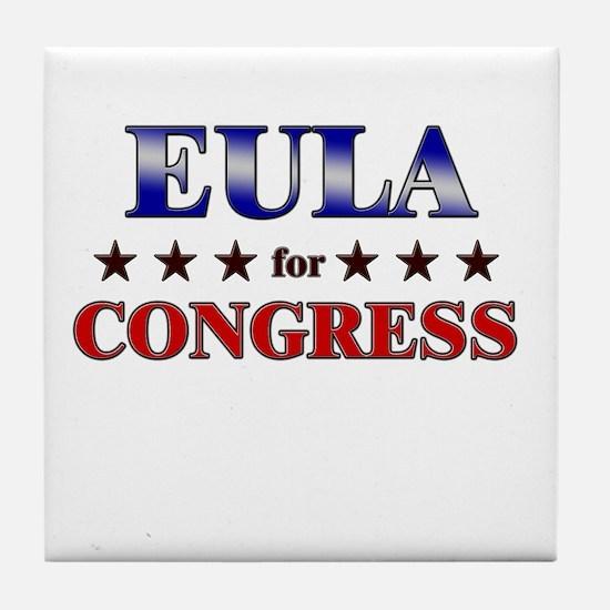 EULA for congress Tile Coaster