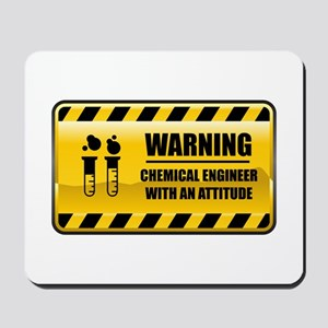 Warning Chemical Engineer Mousepad