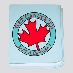 Get Canucked / baby blanket