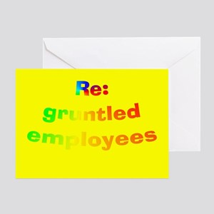 Bosses day greeting cards cafepress gruntled bosses day cards m4hsunfo