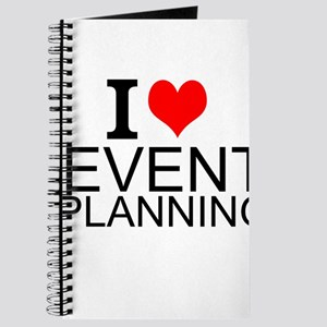 I Love Event Planning Journal