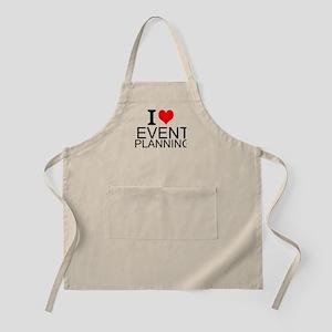 I Love Event Planning Apron