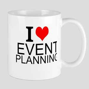I Love Event Planning Mugs