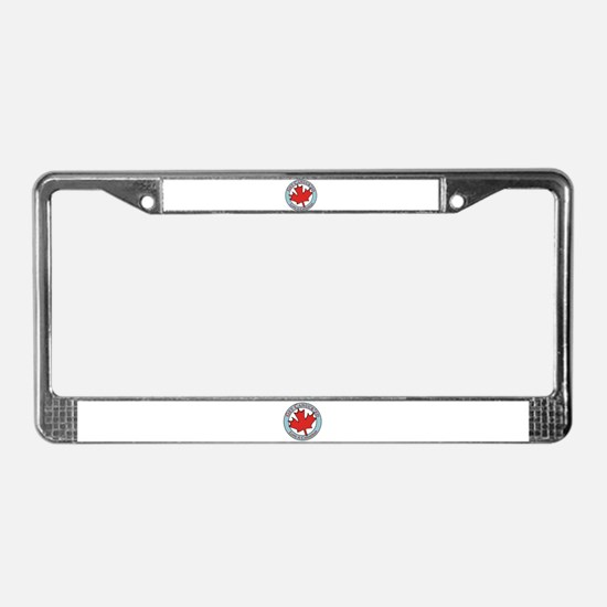 Get Canucked / License Plate Frame